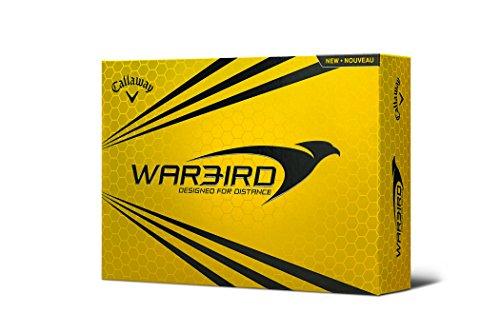 Callaway Warbird Golf Balls, Prior Generation, (One Dozen), White