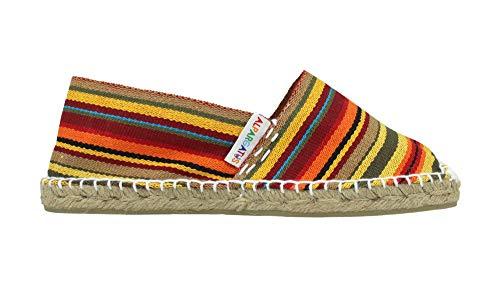 Alpargatus - Alpargata Plana Rayas, Mujer, Multicolores, 40 EU