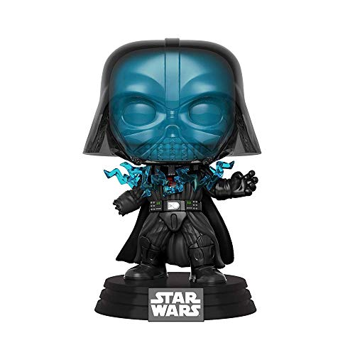 Funko- Pop Bobble: Star Wars: Electrocuted Vader Figura Coleccionable, Multicolor (37527)