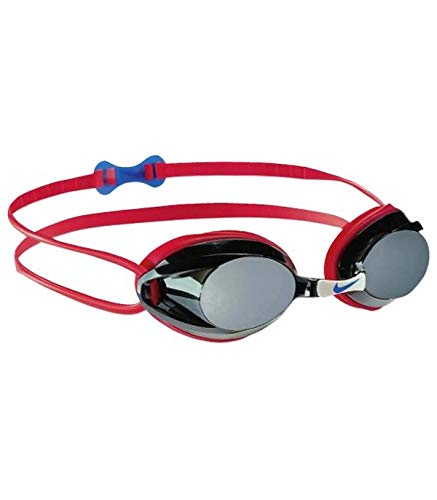 Desconocido Nike Silikonbrille, Rot, One Size, 93011-627