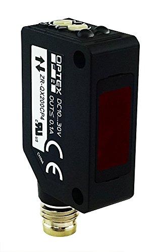 Optex FA 2 meter coaxial transparent sensing photoelectric beam sensor PNP output M8 4 pin QD