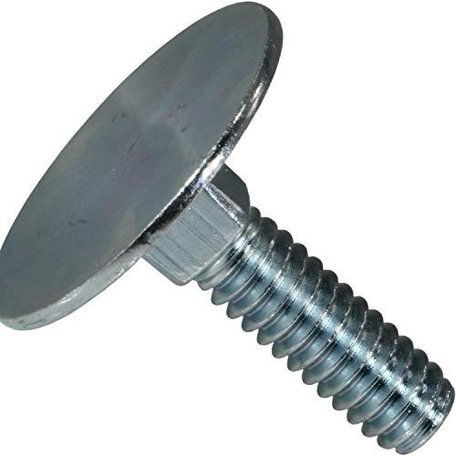 Hard-to-Find Fastener 014973239619 Elevator Bolts, 1/4-20 x 1, Piece-8,zinc