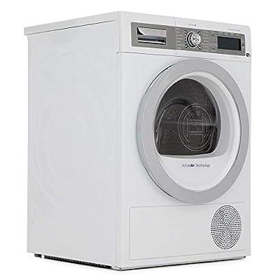 Bosch WTYH6791GB Serie 8-9kg Freestanding Condenser Tumble Dryer With Heat Pump - White