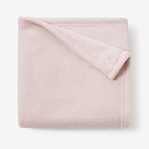 Elegant Baby Simple Complete Free Shipping Fleece Blanket Seasonal Wrap Introduction Chalk Pink