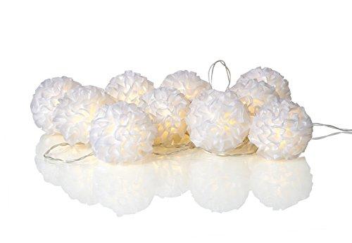 Mark Slöjd 703458, guirlande Déco, plastique, 0,06 W, intégré, blanc, 6 x 320 x 6 cm