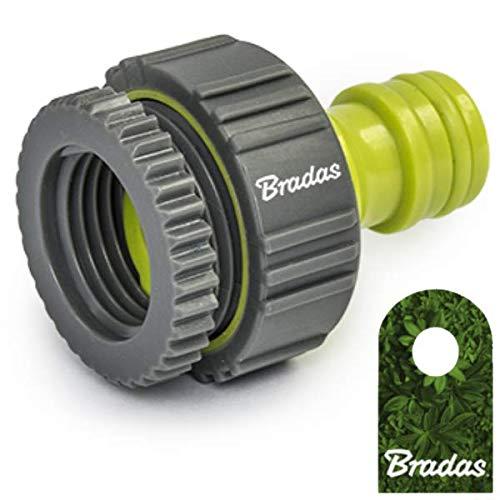 "Bradas Hahnanschluß 1"" - 3/4"" Adapter Hahnstück Lime LINE Soft LE-S2199K 3614"