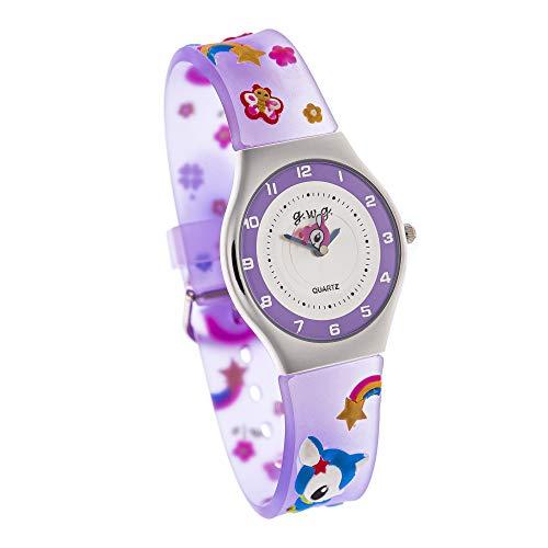 Reloj de Goma para Niño Niña Chico y Chica con Correa de Goma (RGoma03-11)
