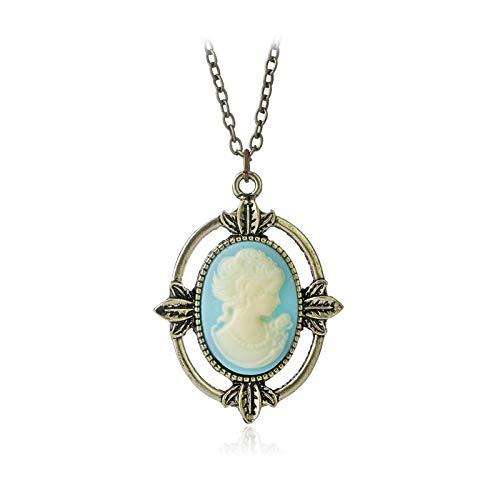 WYFLL Collar de gema Vampire Diaries Catherine de las joyas europeas y estadounidenses, joyas de belleza y personalidad