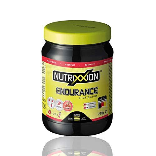 NUTRIXXION® HIGH ENERGY Drink | ENDURANCE-Ausdauer mit Aminosäuren BCAA, Vitaminen & Mineralien | Set 700g Dose, Geschmack RedFruit