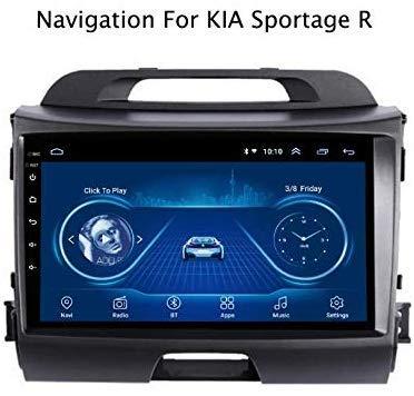 Radio estéreo para Coche, Reproductor MP5 Android 8.1 en Dash 9 Pulgadas para KIA Sportage R (2011-2017), Pantalla táctil GPS 2.5D, WiFi, BT, Enlace de Espejo, Sintonizador de Radio (2G + 32G)