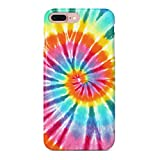 uCOLOR Case Cute Case for iPhone 8 Plus/7 Plus/6S Plus/6 Plus Tie Dye Soft TPU Silicone Shockproof Cover for iPhone 8 Plus/7 Plus/6S Plus/6 Plus(5.5')