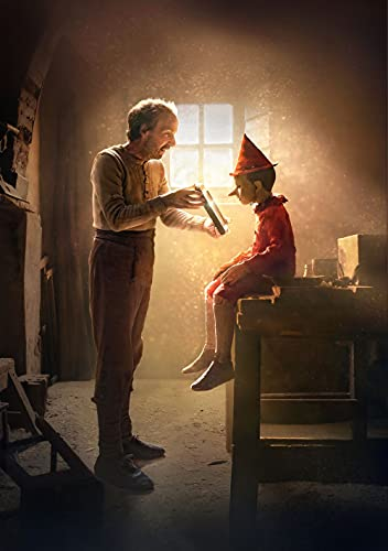 Pinocchio - Movie Poster - Poster del Film 70 X 45 cm. (Not A Dvd)