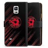 Étui Compatible avec Samsung Galaxy Note 4 Étui Folio Étui magnétique Diables Rouges Produit...