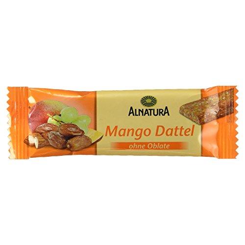Alnatura Bio Mango-Dattel-Fruchtriegel, glutenfrei, 20er Pack (20 x 30 g)
