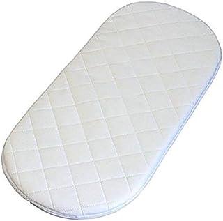 Colchón tejido y suave para cesta de bebé, con forma ovalada Se vende en todos los tamaños., 70 X 30 X 3.5 CM
