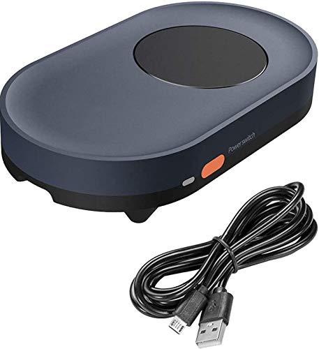 YYHSND Mouse Clicker Jiggler Mover per Lavorare da Casa - Impedisce al Computer Portatile di Andare in Sospensione - Porta USB Senza Driver con Interruttore ON/off E Porta USB