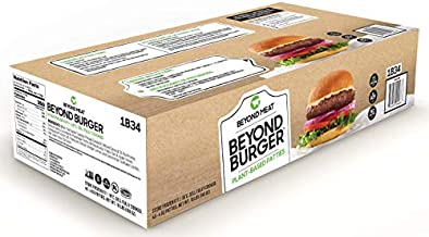 Beyond Burger from Beyond Meat, Plant-Based Meat, Frozen, 40 - 4oz. Patties per Box (Total 10 lbs.)