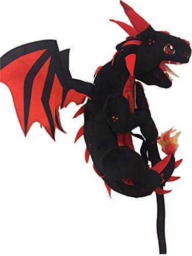 Dragon Shoulder Pack Black Red product image