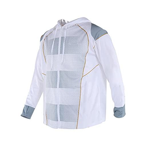 Abbigliamento per la protezione solare, abbigliamento da pesca leggero e traspirante alla moda per la protezione solare Squisito per gli sport all'aria aperta per gli uomini per le donne(XXL-XXL)