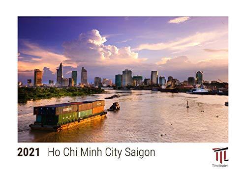 Ho Chi Minh City Saigon 2021 - Timokrates calendari da tavolo, calendari fotografici - DIN A5 (21 x...
