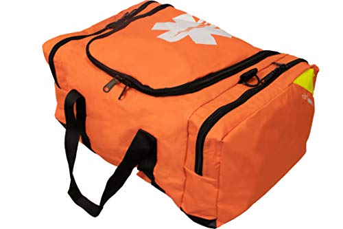 Primacare KB-4135-O First Responder Bag, 21' Length x 12' Width x 9' Height, Orange