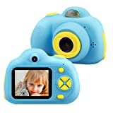 TEKHOME Gifts for 4 5 6 7 8 Year Old Boys, Kids Digital Camera for Boys , New Gift Ideas for Christmas Birthday Easter, Top Toys for Boys Age 4-10, Blue.