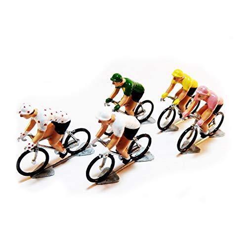 Summit Finish Conjunto de Ciclistas en Miniatura del Tour de Francia