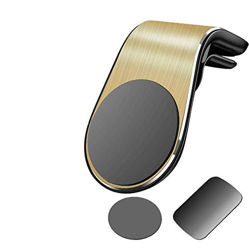 mengzhifei Soporte Magnético Universal del Orificio De Ventilación del Soporte del Aire del Teléfono del Coche En El Soporte del Vinilo del Teléfono del GPS del Coche Amarillo