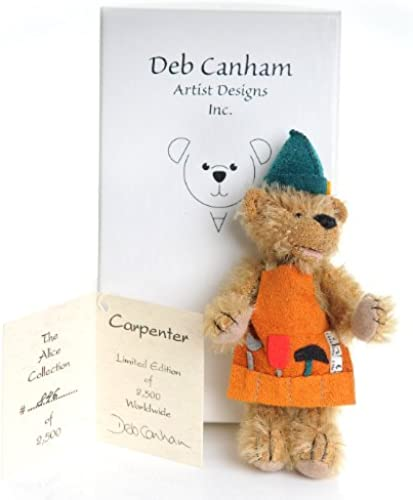 Deb Canham The Alice Collection Limited Edition miniature Bear Carpenter [Toy] by Miniature Bears