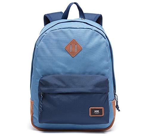 Vans Old Skool Plus Backpack Casual Daypack, 44 cm, 23 Liter, Daypack, V002TMPDZ, Blau, V002TMPDZ