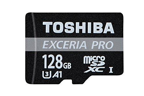 Toshiba Exceria M402 - Tarjeta MicroSD de 128 GB, Color Negro