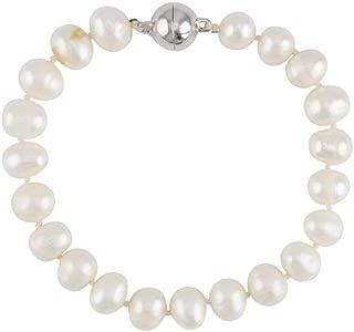 Noni B Liz Jordan Freshwater Magnetic Pearl Bracelet - Womens