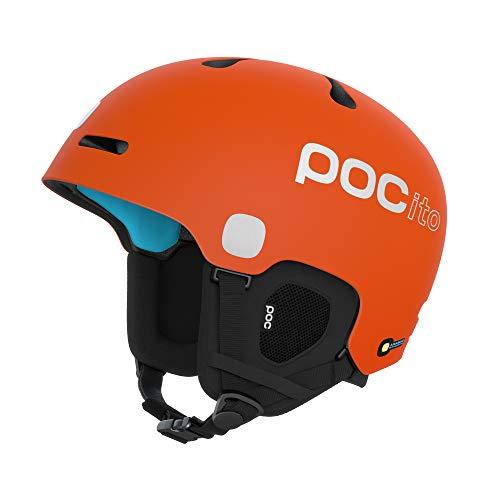 POC Unisex-Youth POCito Fornix Spin Helm, Fluorescent Orange, XSS