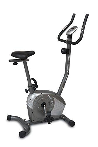 Jk Fitness, Cyclette Magnetica Tekna 205 Unisex – Adulto, Grigio, 85 x 51 x 120 cm