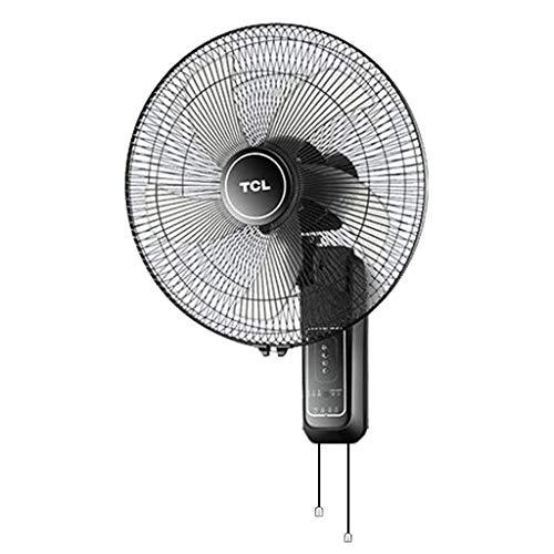 Ventilador eléctrico de Pared, bajo Nivel de Ruido, Control Remoto Inteligente, Potente Ventilador de Viento, Velocidad del Viento de Tres velocidades, Suministro de Aire de Gran Angular