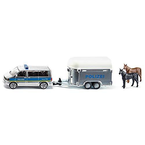 Siku 2310 - Voiture avec remorque à chevaux (scale 1:55)