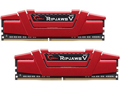 G.SKILL 32GB (2 x 16GB) Ripjaws V Series DDR4 PC4-24000 3000MHz 288-Pin Desktop Memory Model F4-3000C16D-32GVRB