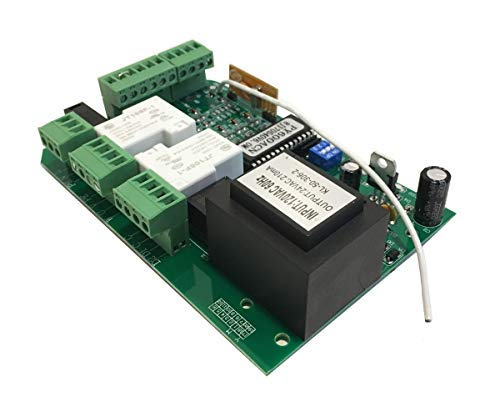 GATEXPERT Control Board for Sliding Gate Opener Security Electronic Main Replacement Circuit Control Board 110V/60HZ