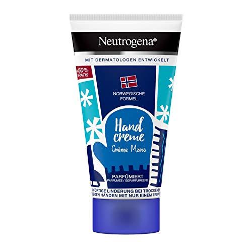 Neutrogena Norwegische Formel konzentrierte Handcreme für sehr trockene Hände, parfümiert, Limited Edition 75ml