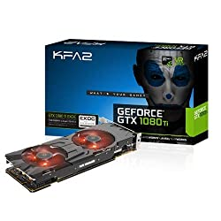 KFA2 GeForce GTX 1080 Ti EXOC PCI-E gaming graphics card, 11GB GDDR5X, black