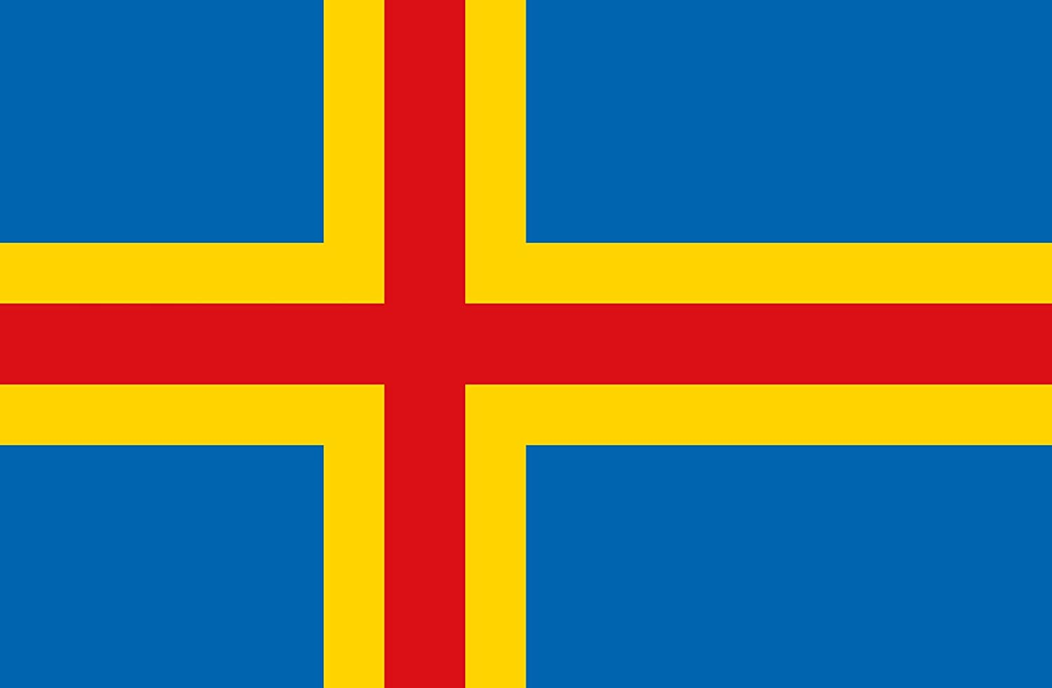 magFlags XXXL Now free shipping Flag New sales Aland 6m² Landscape Islands 64sqft