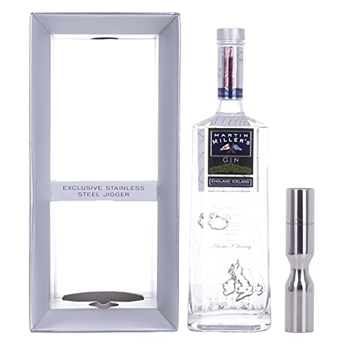 Martin Miller's Gin 40% - 700 ml in Giftbox with Jigger