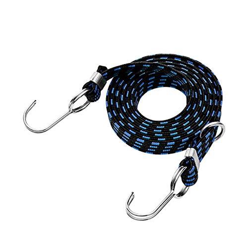 HHSJ Equipaje cuerda atada apilamiento Banda Correa de cordón Elástico para motocicleta Bicicleta Bicicleta accesorios e711