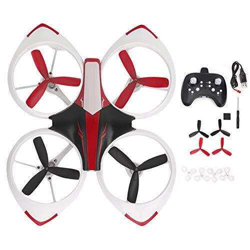 Accessori di qualità LED Drone 3D Roll Gear Switch One-Click Return Remote Control Drone for Children Toy ( Color : Red )