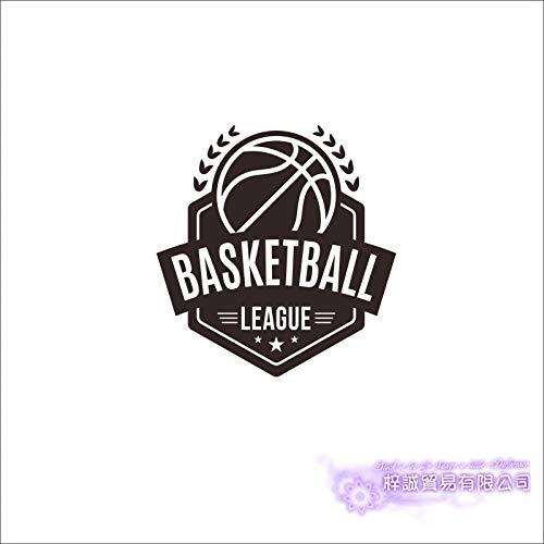 Basketball Meisterschaft Aufkleber Sportwagen Aufkleber Poster Vinyl Wandtattoos Pegatina Decor Wandbild Basketball Sticker-155x145cm