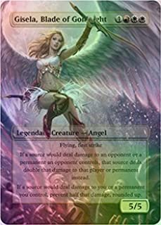 Gisela, Blade of Goldnight - Casual Play Only - Customs Altered Art Foil
