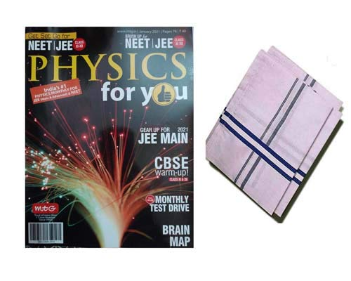 Physics For You January 2021 NEET/JEE Special For Monthly Magazine With Hanky Free