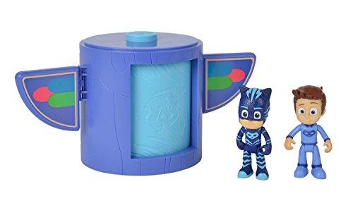 Simba PJ Masks 109402154 - Juego de Mesa (apilable, para niños a Partir de 3 años)