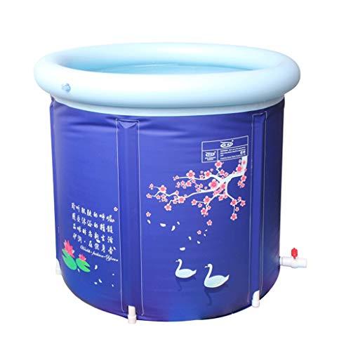 Opblaasbare badkuip PRIDE S Vouwbad PVC materiaal Dikke badkuip Badvat Geïntegreerde ballon Met deksel