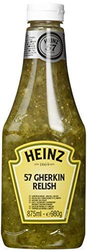 Heinz 57 Gherkin Relish Sauce Squeeze (1 x 875 ml)
